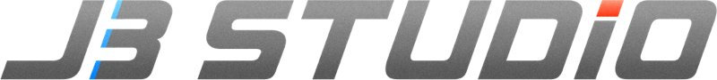 The J3 Studio logo - appears as stylised text 'J3 Studio'.